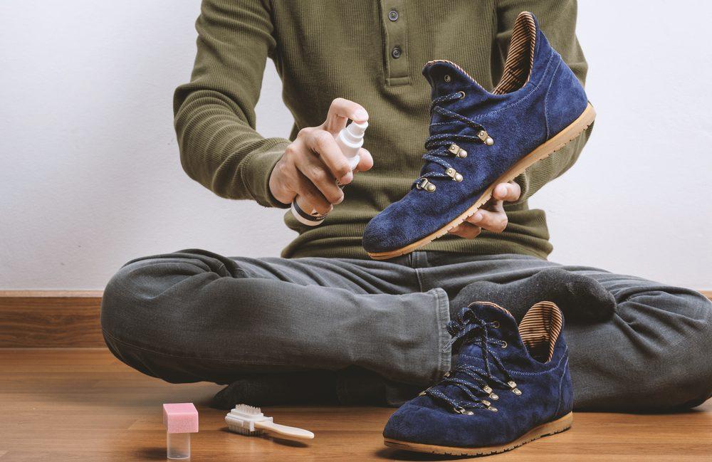 Astuces pour entretenir des chaussures en daim